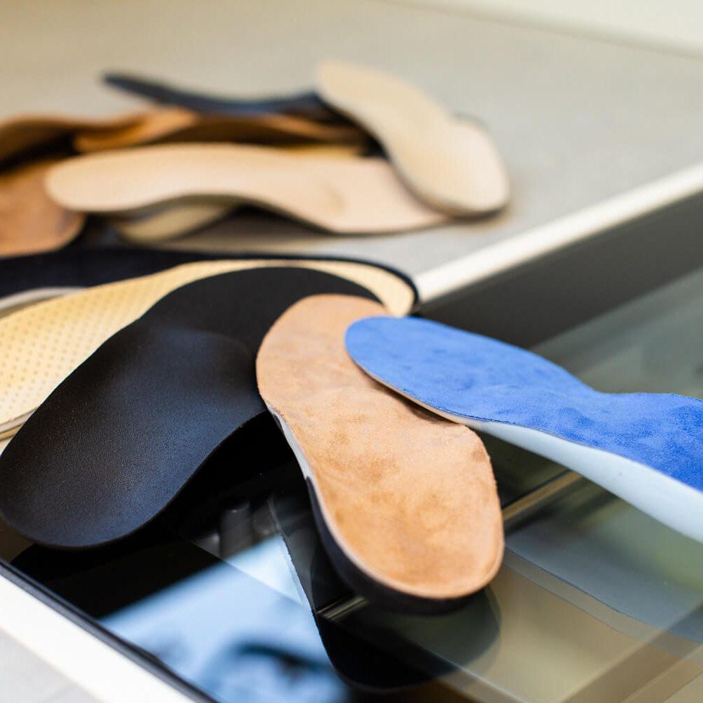 Orthopädietechnik Schuheinlagen